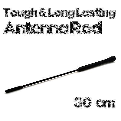 Agila Black Rubber Genuine Replacement AM//FM Aerial Mast Antenna Roof Screw In Type