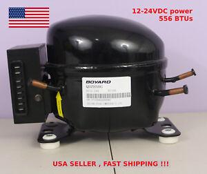 12v 24v Dc Refrigeration Compressor Fridge Freezer Marine Solar Qdzh50g R134a Ebay