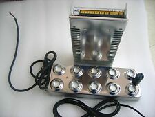 XUXUWA Transformer Transformer Industrial Ultrasonic Mist Maker Fogger 10 Head Humidifier