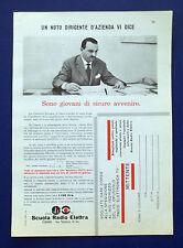 A571-Advertising Pubblicità-1960-SCUOLA RADIO ELETTRA