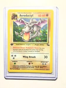 AERODACTYL-1-62-1st-Edition-GOLD-STAMP-Prerelease-NEAR-MINT-Promo-Pokemon-Card
