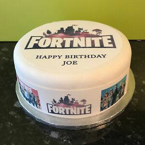 Fortnite Edible Cake Decorations Various Shapes Sizes Ebay These fortnite cake ideas will attract your guests like llama loot! usd