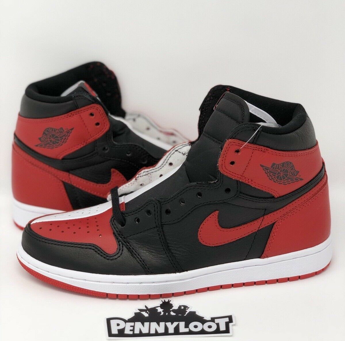 Jordan 1 Homage to Home (Non-Number) Size 7.5 Bred Toe Royal Satin Shadow Yeezy