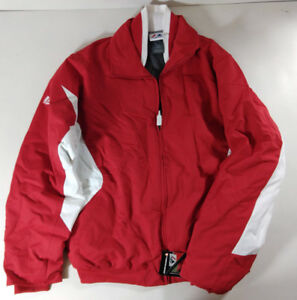 MAJESTIC-Full-Zip-Thermabase-Fleece-Lined-Baseball-Pitcher-Jacket-Red-Style-IJ10