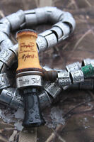 Field Proven Calls Hybrid Double Shot Duck Call Hedge/ Black Poly Insert