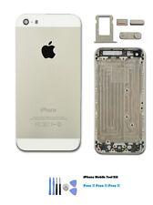 NUOVO COLLEZIONE IPHONE 5S ARGENTO RICAMBIO Alloggiamento Cover posteriore
