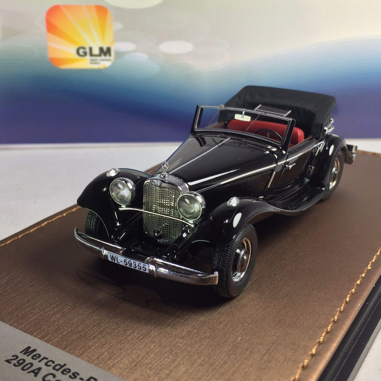 1  43 GLM MERCEDES-BENZ 290 A CABRIOLET W18 1936 GLM207301  produit de qualité d'approvisionnement