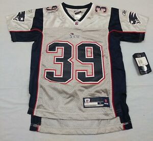 Cheap M65 New NWT REEBOK New England Patriots Gray Danny Woodhead Jersey  for sale