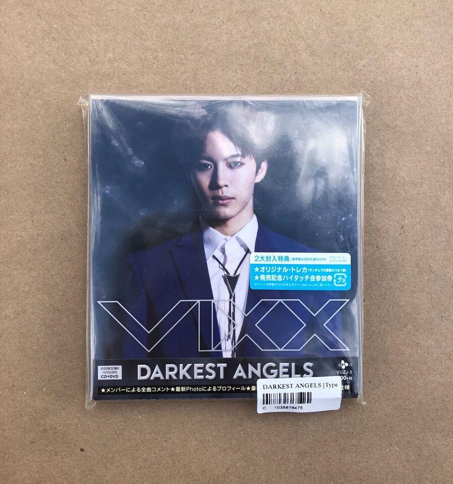 VIXX: DARKEST ANGEL (ALBUM+DVD) (Japan Version), pop