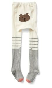 2024cc97d8671 Gap Baby Girl Kitten Sweater Tights Stripe Gray White Size 2T - 3T ...