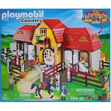 Playmobil Brown Horse /& Rouge Couverture Accessoires pour Pays Farm//Stable