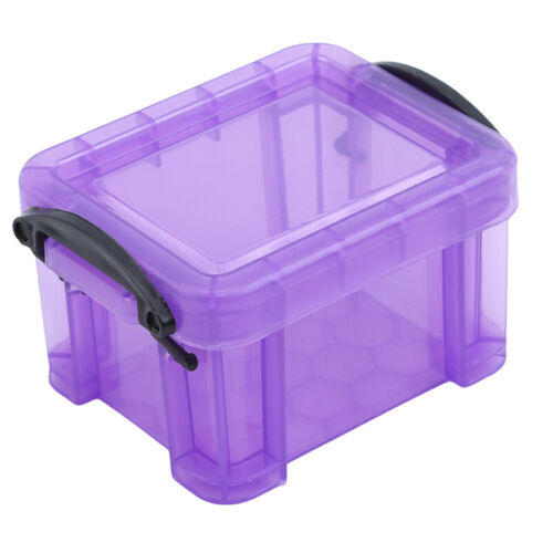 Mini Lock Box Candy Color Home Furnishing Trumpet Cases Cute Storage Boxes S3