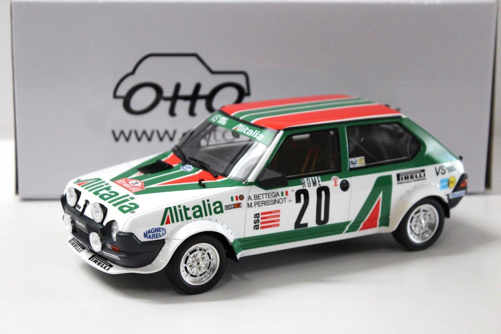 directo de fábrica 1 1 1 18 Otto Fiat Ritmo Abarth talla 2 Rally de Monte Cochelo New en Premium-modelCoches  precio razonable