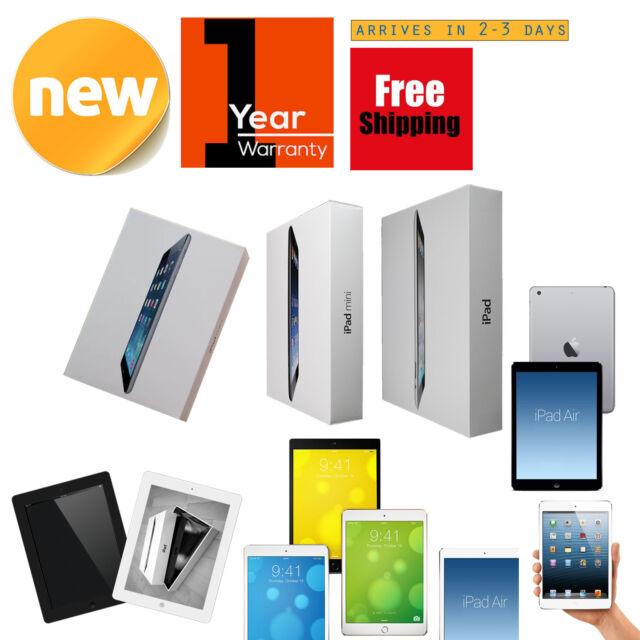 iPad Pro-Air-mini-1/2/3/4 256GB-128GB-64GB-32GB-16GB WiFi Cellular + WARRANTY