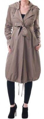 Vanessa Knox Isabella Oliver Maternity Showerproof Mac Jacket Coat Rrp £225