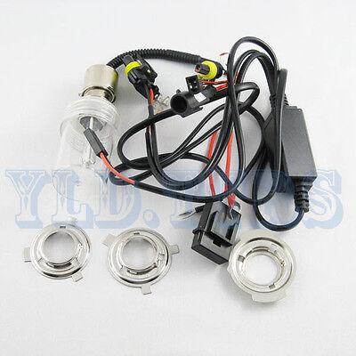 Motorcycle HID Headlight Bi-Xenon Light P43T-38 BA200 H6 10000K Hi/Lo Bulb 35W