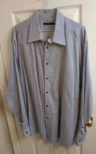 Gucci vtg retro Tom Ford era dress shirt XL 46 18