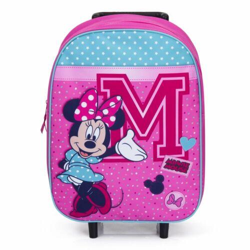 DISNEY Minnie Mouse Ragazza TROLLEY VALIGIA PER BAMBINI