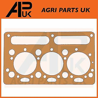 Copper Cylinder Head Gasket Compatible with Massey Ferguson 135 148 550 Tractor /& Perkins AD3.152 Engine