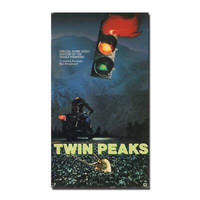 Twin Peaks TV Series Silk Fabric Poster Canvas Art Print 12x21 24x43 inch