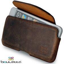 Borse in Pelle Telefono Custodia Per Samsung Galaxy s4 [Aslant ANTIC Coffee]