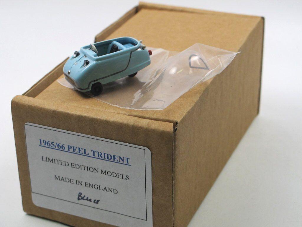 SAMS Model Cars 1965 Peel Trident MICROCAR Minicars bleu 1 43 blancmetall
