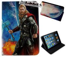 For Apple iPad Mini 1 2 3 4 Marvel Comics Thor Superhero Avengers Case Cover DC