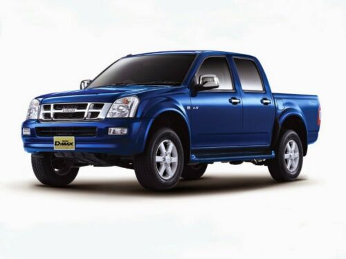 MATTE BLACK FRONT END MASK CAR BRA FIT FOR ISUZU D-MAX DMAX 02 03 04 05 06
