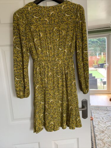 Details about  /Marks And Spencer Collection  Petite Dress Size 8 Yellow