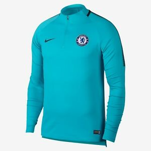 8e5c857cddd Image is loading NIKE-CHELSEA-FC-DRY-SQUAD-DRILL-TRAINING-TOP-