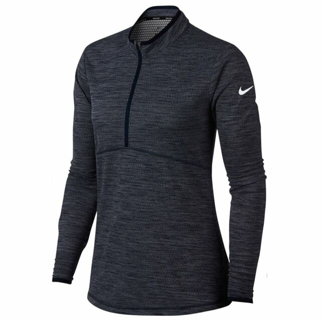 1fcaf618 2018 Nike Women Dri Fit Lightweight Half Zip Golf Pullover for sale ...