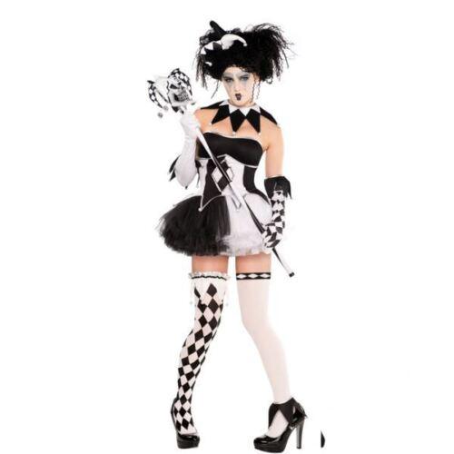 Da Donna Tricksterina Clown Costume Di Halloween Costume Vestito Adulto