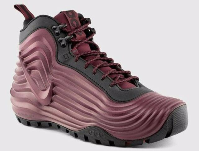 low priced ba2b2 8d329 Nike Men s Sz 10 ACG Lunardome 1 Sneakerboot (654867-669) Deep Burgundy