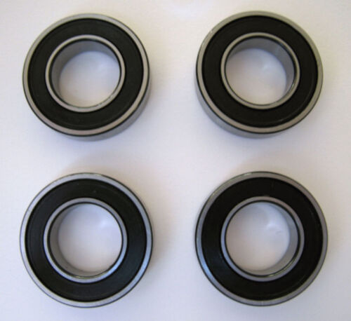 4 Qty. HYBRID CERAMICABEC5 BALLBEARING KIT 4 PIECES BULLSEYE 6001-2RS