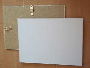 sous verre photo cadre 18x24 vide anti reflet clips x2 neufs ebay. Black Bedroom Furniture Sets. Home Design Ideas