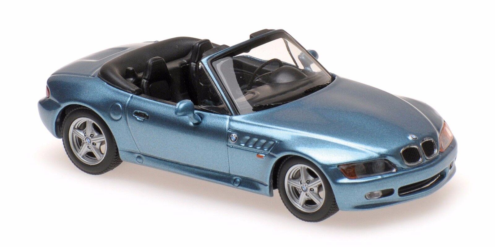 BMW  Z3 CABRIOLET  BLEU 1997      MINICHAMPS    1 43