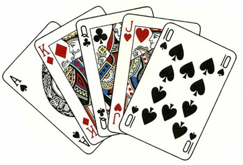 Playing Cards Select-A-Size Waterslide Ceramic Decals Bx