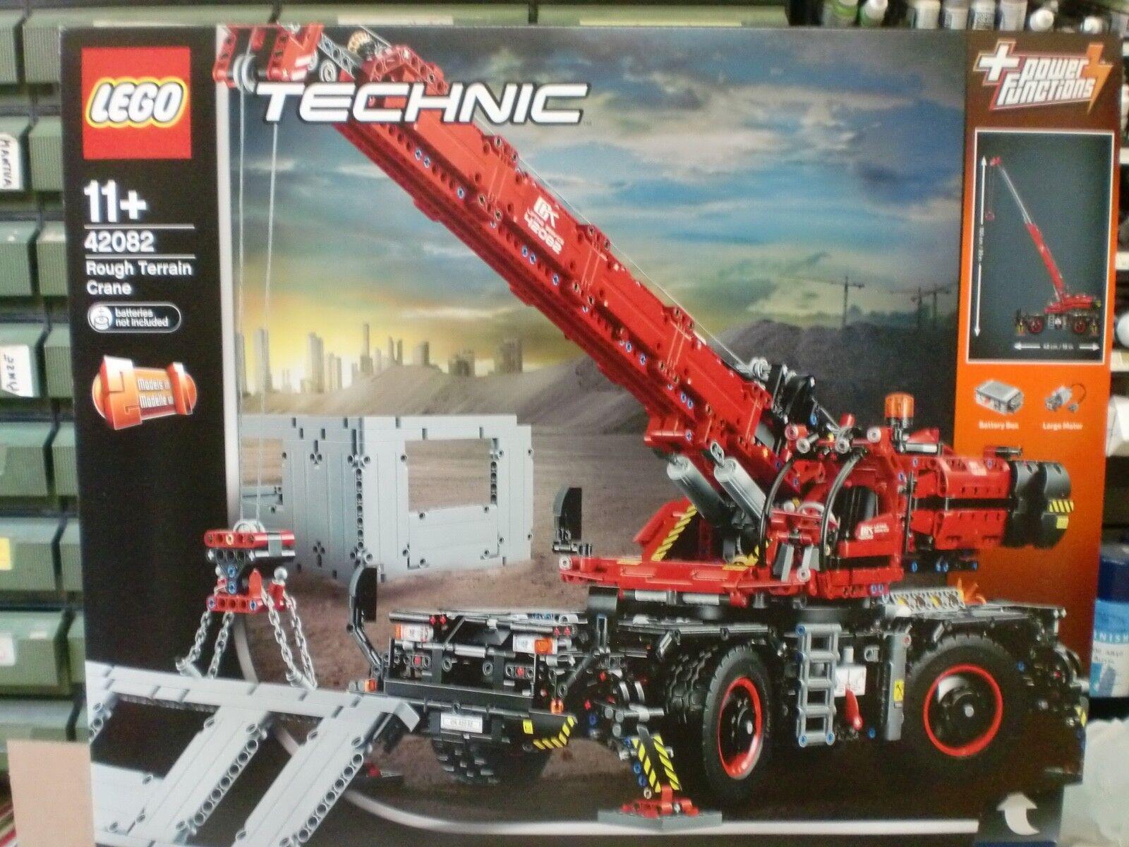 LEGO 42082 - ROUGH TERRAIN CRANE - SERIE TECHNIC