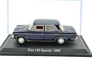 FIAT SCALA 1:43 125 modelli di auto Diecast modellcar statica di veicoli d'epoca