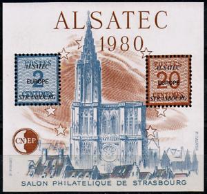 AgréAble Timbre France Bloc Cnep N°1 Neuf** Alsatec (salon Philatélique De Strasbourg) Bon Pour L'éNergie Et La Rate