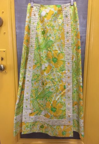 """Lilly pulitzer Vintage 60's floral """"the Lilly"""" Max"""