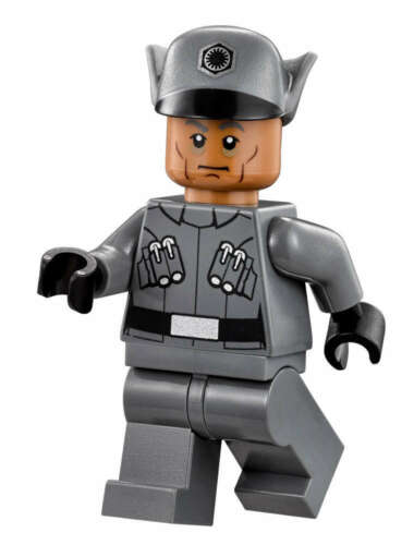 GENUINE LEGO MINIFIG Star Wars First Order Male Officer SW670 75101 WOW!!
