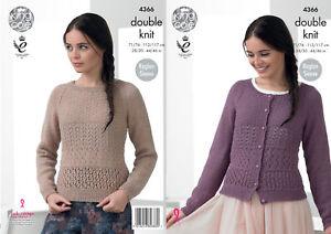 503835d21dd941 Image is loading Raglan-Sleeve-Cardigan-Jumper-Sweater-Ladies-Knitting- Pattern-