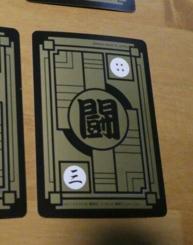 Details about  /DRAGON BALL Z DBS DBZ HONDAN PART 37 CARDDASS CARD REG CARTE 13 JAPAN MINT