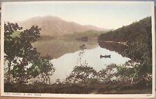 Scottish Postcard LOCH ACHRAY & BEN VENUE Mountain Trossachs Scotland Photochrom