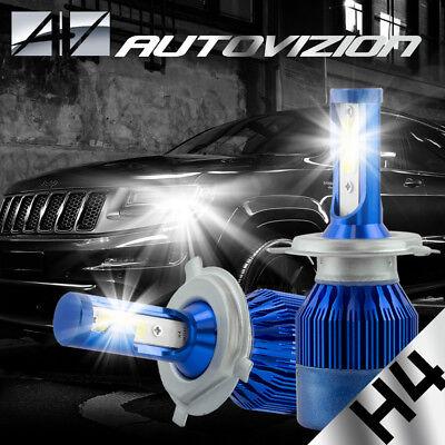 AUTOVIZION LED HID Headlight Conversion kit H4 9003 6000K for 2004-2006 Scion xB