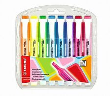 STABILO Swing Cool Highlighter Pen Marker 8 Color