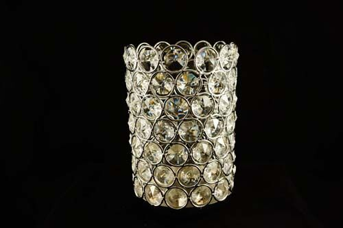 6 25 X 4 Super Bling Crystal Candle Holders Wedding Center Piece Home Decor