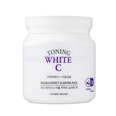 [ETUDE HOUSE] Toning White C Double Effect Sleeping Pack 100ml / Whitening