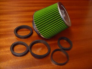 CONE AIR FILTER INDUCTION KIT GREEN UNIVERSAL ADAPTORS 90 80 75 70 65 60 CGB8001 - Telford, Shropshire, United Kingdom - CONE AIR FILTER INDUCTION KIT GREEN UNIVERSAL ADAPTORS 90 80 75 70 65 60 CGB8001 - Telford, Shropshire, United Kingdom